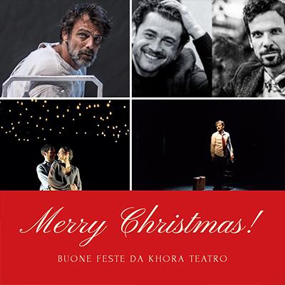 Buone Feste da Khora Teatro