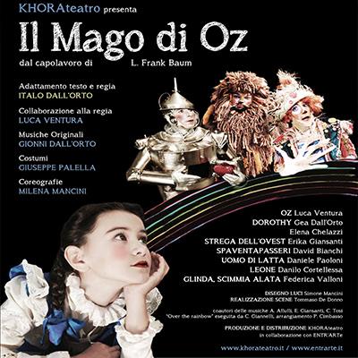 Novità per Khora: in tour IL MAGO DI OZ