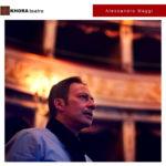 Alessandro Maggi, regista teatrale e direttore artistico di importanti festival del panorama teatrale italiano. Questa stagione, ritorna sui palchi con Vincent Van Gogh - L'odore assordante del bianco