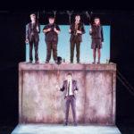 """spettacolo teatrale """"Il giorno del mio compleanno"""" (So here we are) al teatro Piccolo Eliseo - protagonisti: Giovanni Arezzo, Antonio Bandiera, Larence Mazzoni, Grazia Capraro, Luca Terracciano, Federico Gariglio"""